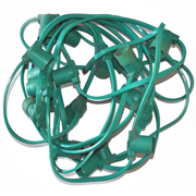 Bulb Socket Cable Green