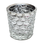 Diamond Votive Silver
