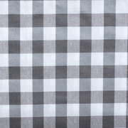 Overlay Gingham Grey Medium Square