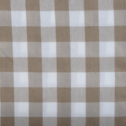 Overlay Gingham Stone Medium Square