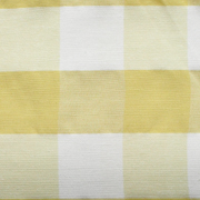Overlay Gingham Yellow Large Square
