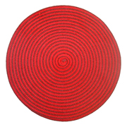 Red and Brown Spiral Mat (New Stock)