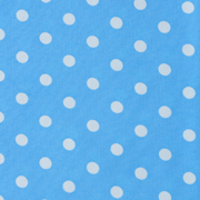 Top Cloth Polka Dot Minimat Baby Blue and White
