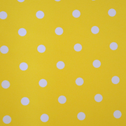 Top Cloth Polka Dot Minimat Yellow and White