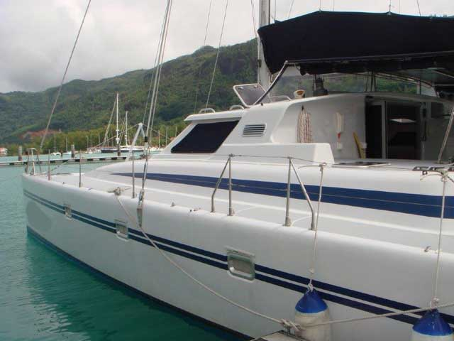 38 Admiral - (CAT38-0074) SECOND HAND CATAMARANS / MULTIHULLS